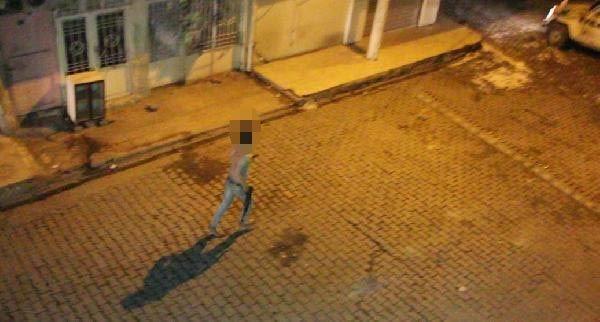 Polis, PKK'lı göstericiyi böyle kovaladı
