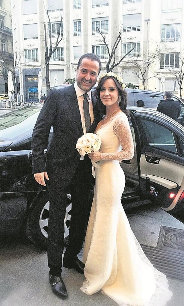 Serdar Bilgili ile Nazlı Çelik'ten jet hızıyla nikah!