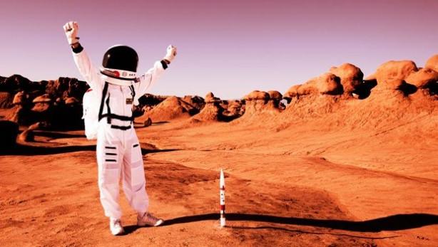 Mars yolculuğunda Türk yok