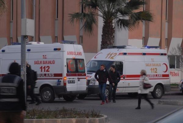 Ege Üniversitesi'nde kan döküldü