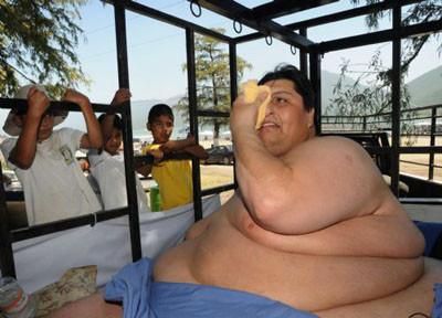 250 kilo zayıflayıp, 310 kiloya indi!