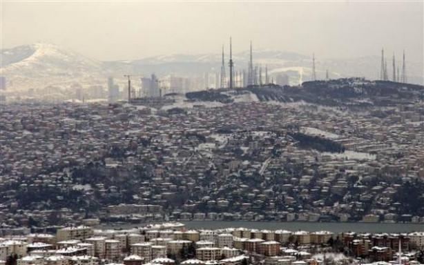 Kuş bakışı İstanbul