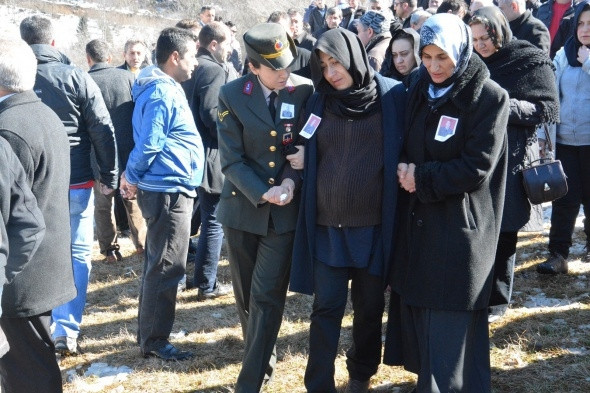 Şah Fırat operasyonu şehidi Halit Avcı'ya son görev