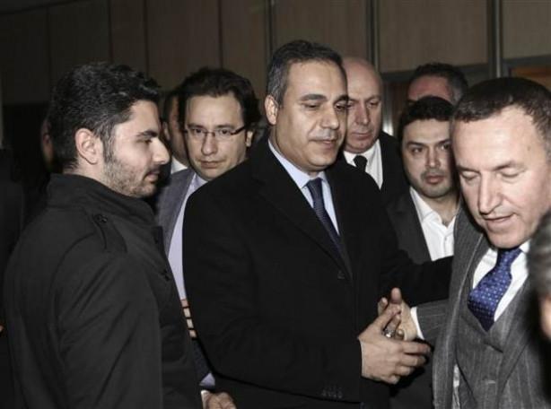 Hakan Fidan AK Parti'yi ziyaret etti
