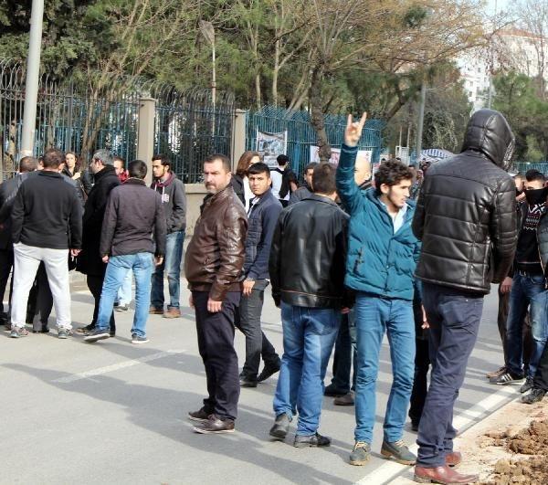 Marmara Üniversitesi'nde gerginlik