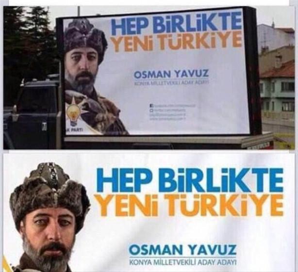 Sosyal medyayı sallayan afişler