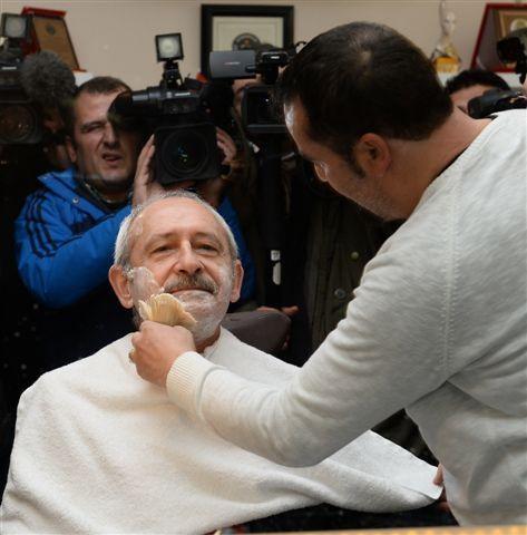 Kılıçdaroğlu esnaf ziyaretinde