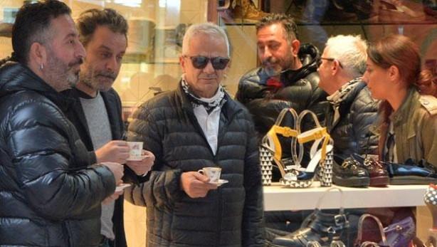 Cem Yılmaz Ozan Güven'in mağazasında