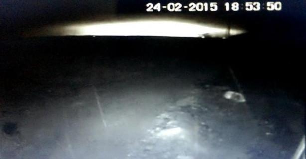 Malatya'daki uçakların düşme anı kamerada