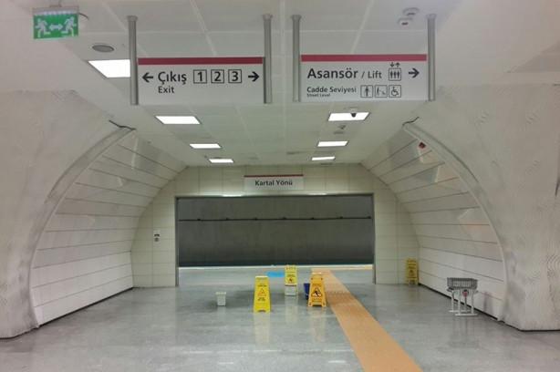 6.5 milyar liralık Kadıköy Kartal metrosu su sızdırıyor