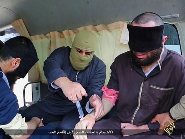 IŞİD böyle cezalandırıyor