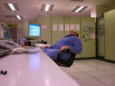 İş başında uyumanı yolları