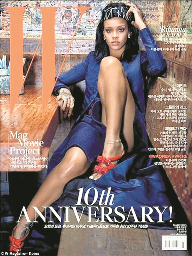Yarasa kız Rihanna!