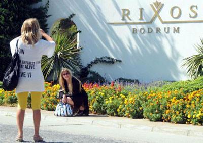 Erdoğanın kaldığı Rixos Otel meşhur oldu