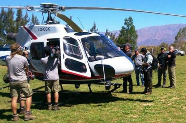Survivor yarışmacıları helikoptere böyle binmiş