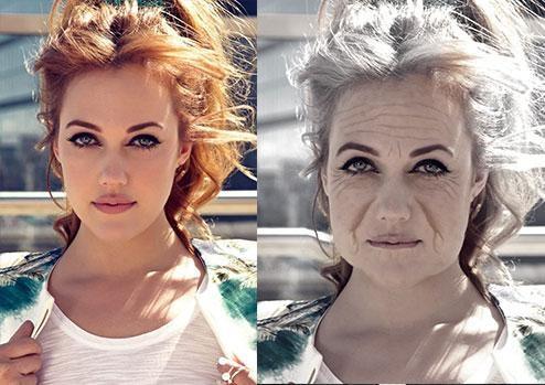 Ünlüler yaşlanırsa