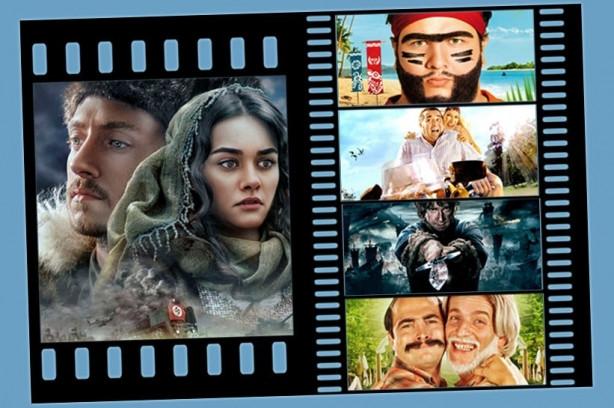 2014'ün en çok izlenen filmleri