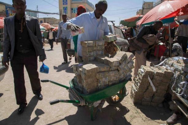 Somali'de şaşırtan manzara