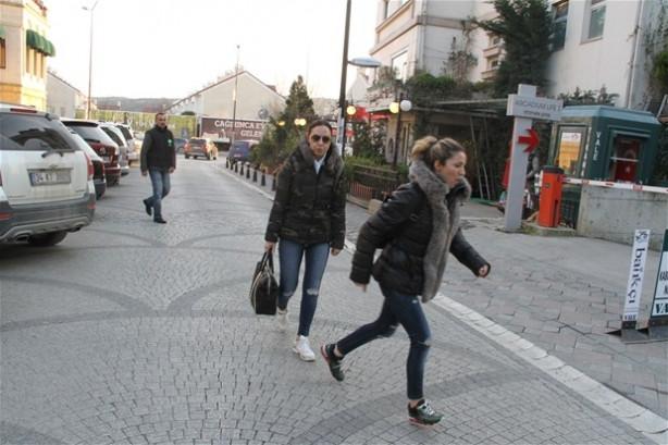 Ebru Gündeş ile eşi Rıza Sarraf iki yıl sonra aynı karede