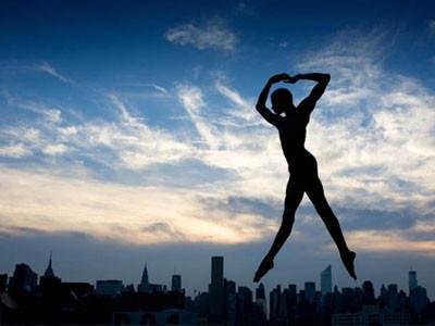 Şehir dans pistine dönüşürse...