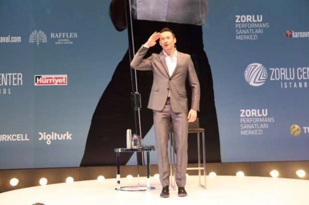 """Hugh Jackman:""""Türklüğüm genlerimden geliyor"""""""