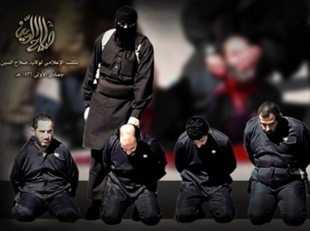IŞİD'den bir vahşet daha!