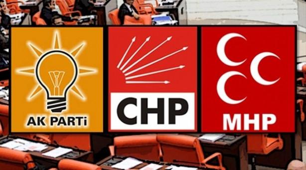 CHP, AK Parti ve MHP'de adaylık başvurusu yapmayan vekiller