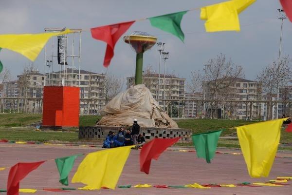 Diyarbakır'da Nevruz hareketliliği