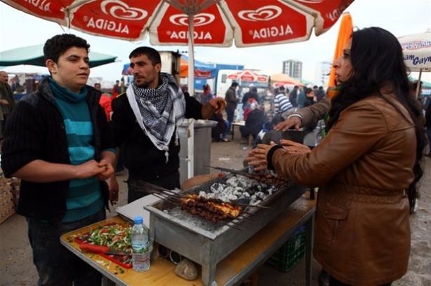 Diyarbakır'da Nevruz kutlamaları başladı