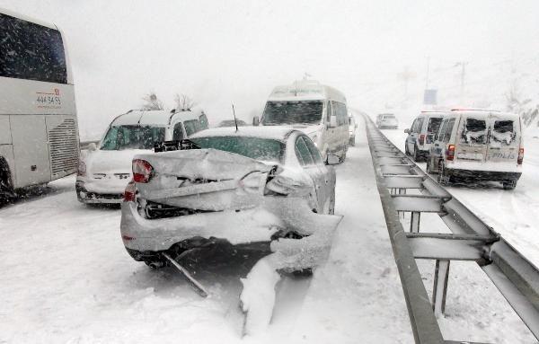 Yozgat-Ankara karayolu kapandı