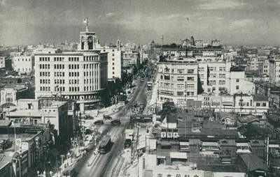 En büyük şehirler siyah beyaz fotoğraflarda