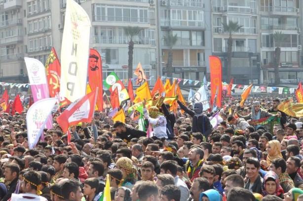 İzmir Gündoğdu'da ilk Nevruz kutlaması