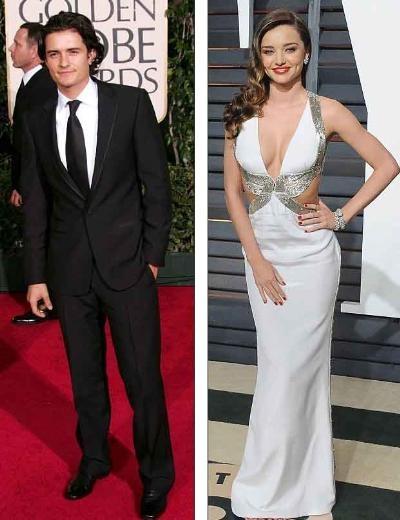Miranda Kerr ve Orlando Bloom arasındaki buzlar eridi mi ?
