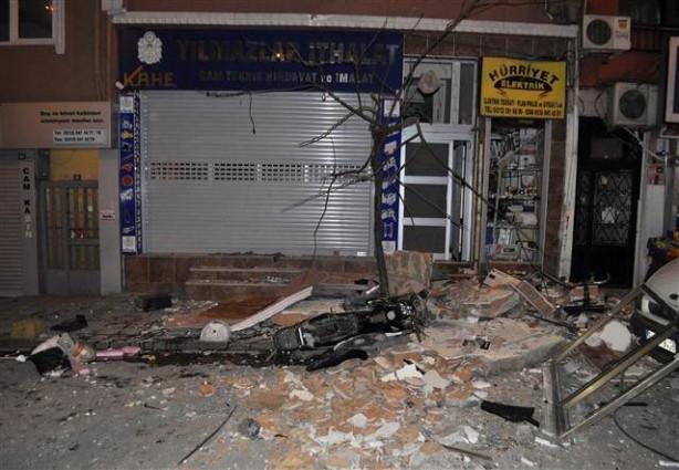 Kağıthane'de korkutan patlama: 1 ölü 3 yaralı