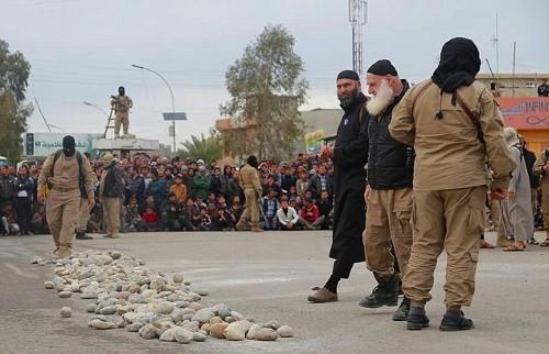 IŞİD'den vahşi recm cezası
