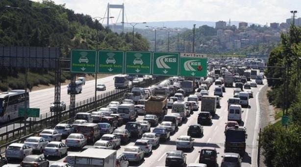 Trafiğin en çok sıkıştığı şehir İstanbul