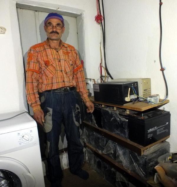 Kendi elektriğini üretti, kesintiden etkilenmedi
