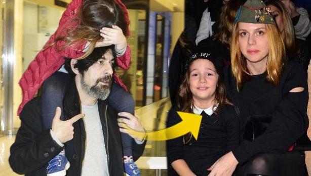 Okan Bayülgen kızı İstanbul ile alışverişte