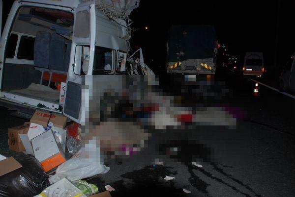 Osmaniye'de katliam gibi kaza: 7 ölü, 10 yaralı