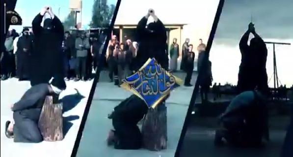 4 Suriye askerinin kafasını kestiler!