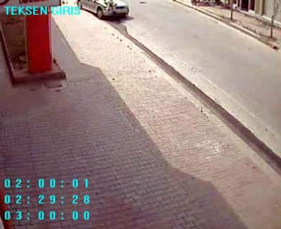 Saniye saniye kaza anı