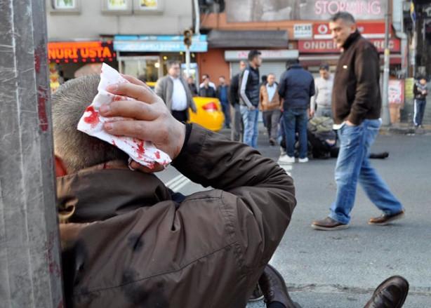Beyoğlu'nda feci kaza!