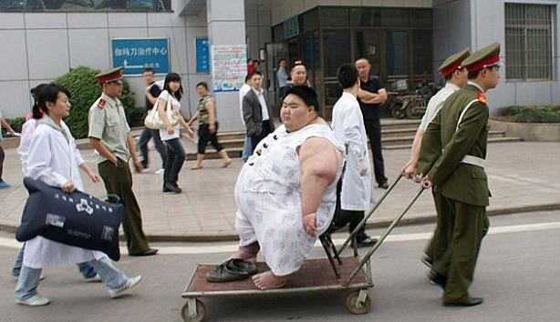 Çin'in en kilolu adamı