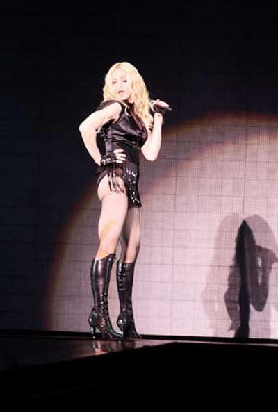 Madonna dünya turnesinde