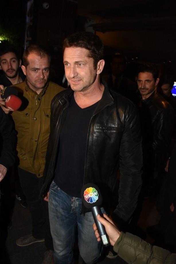 Gerard Butler  Türkiye'de !