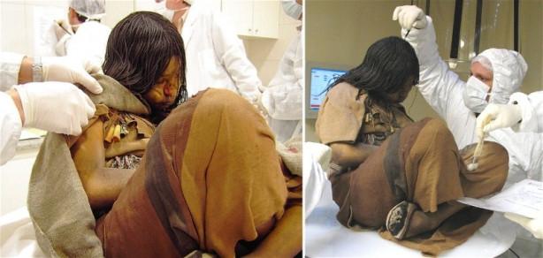 500 yıllık mumya kızın sırrı çözüldü meğer...