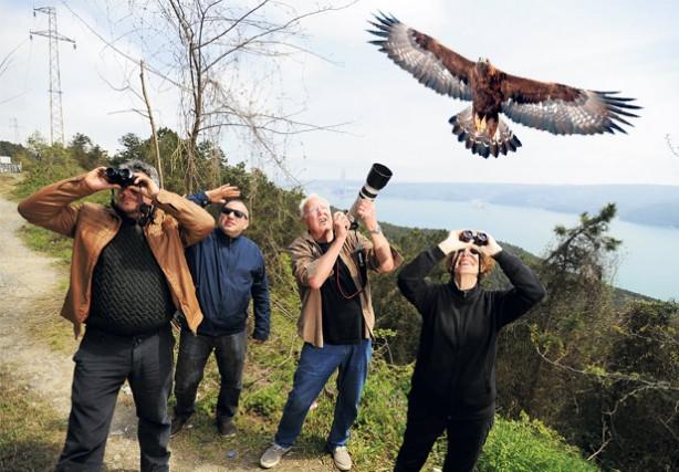 İstanbul'un üstünden bir milyon kuş geçti