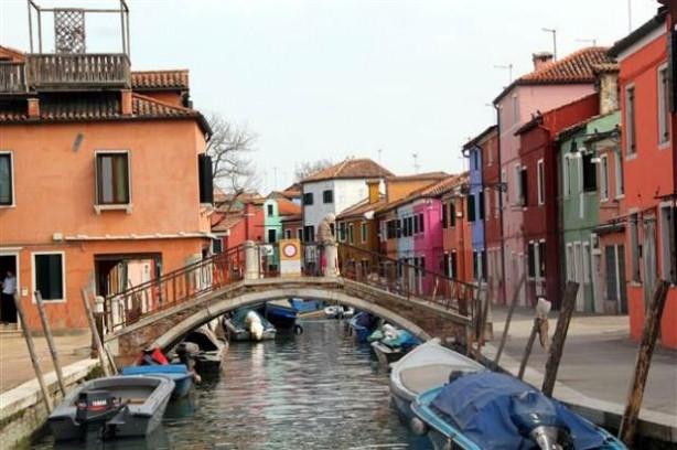 Venedik'in en renkli adası