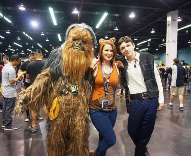 Star Wars fuarı başladı