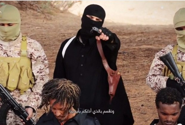 IŞİD yine aynı yerde infaz etti